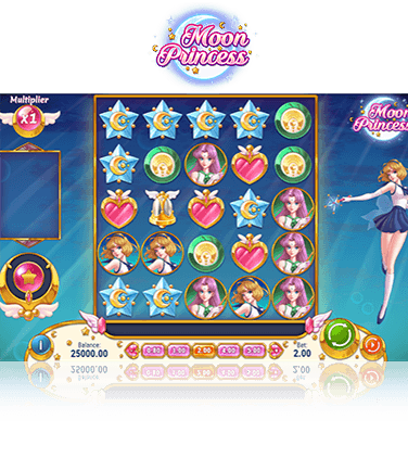 A spin of the Moon Princess slot