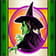 Witch symbol in Wizard of Oz Ruby slippers Slot