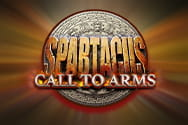 Spartacus Call to Arms slot game