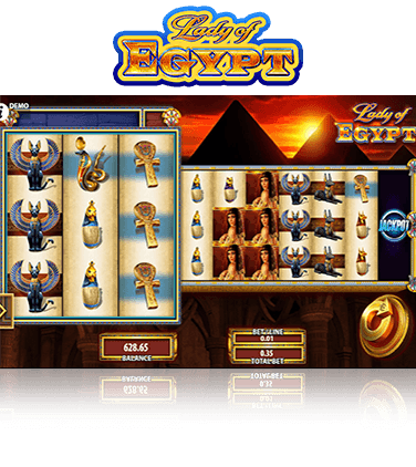 Lady of Egypt Game