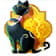 The Cat symbol in Egyptian Riches slot game