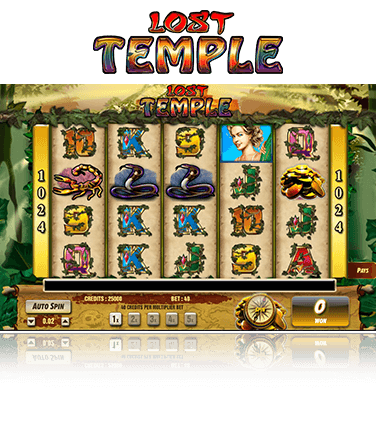 Lost Temple Game