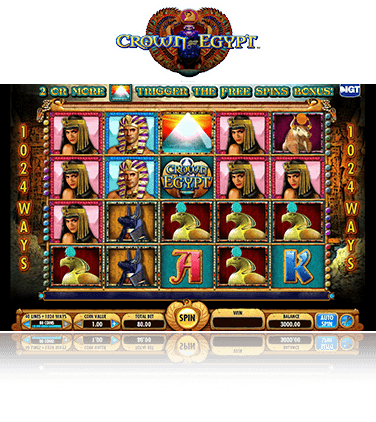 Crown of Egypt Game