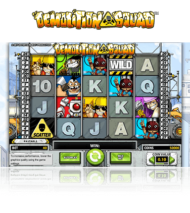 Demolition Squad Game