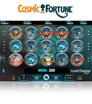 Cosmic Fortune game