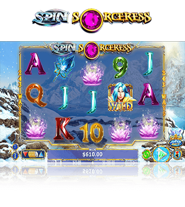 Spin Sorceress game