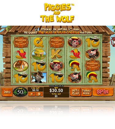 Piggies And The Wolf Game