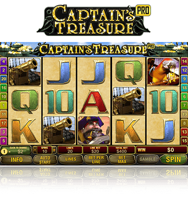 Captain's Treasure Pro Game