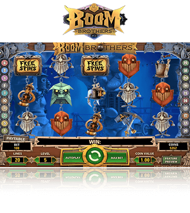 Boom Brothers Game