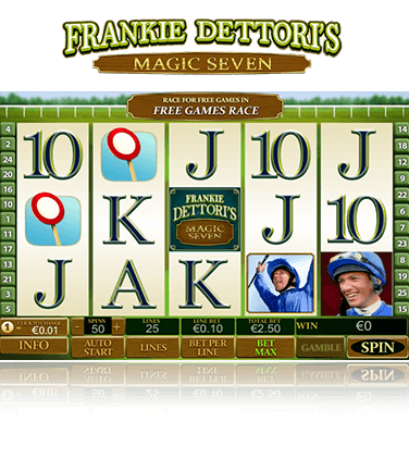 Frankie Dettori's Magic Seven Game