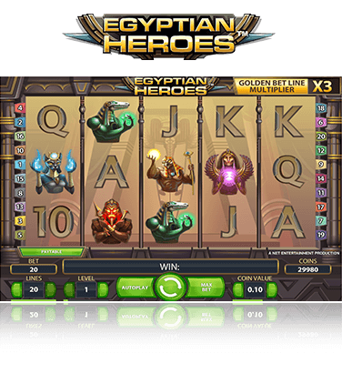 Egyptian Heroes Game