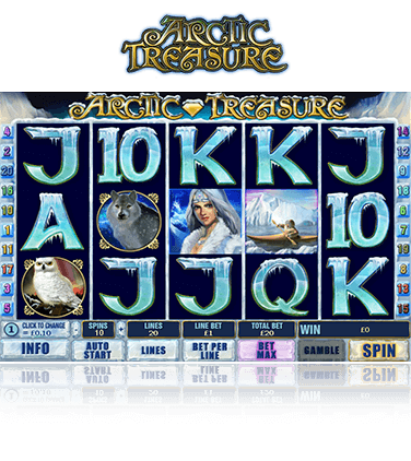 Arctic Treasure Game