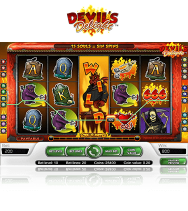 Devil's Delight game