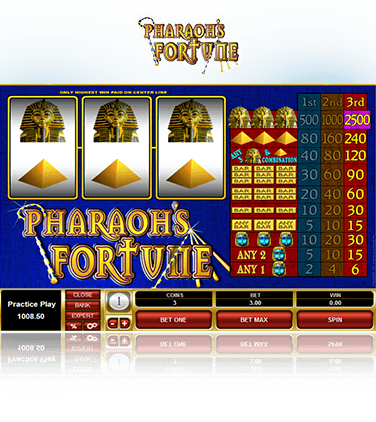 Pharaoh's-Fortune-Game