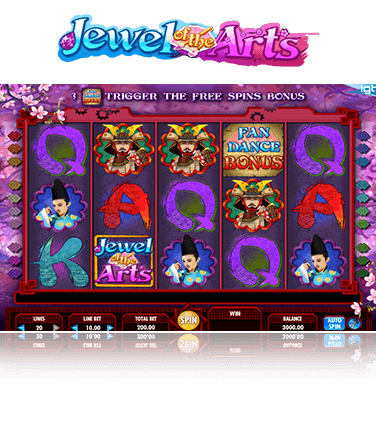 Jewels Of The Arts Game