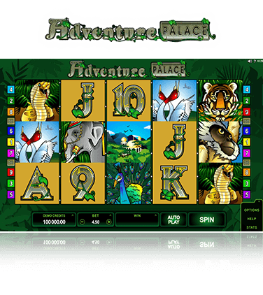 Adventure Palace game