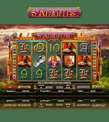 5 Knights Online Casino