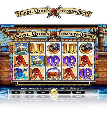 Capt. Quid's Treasure Quest Game