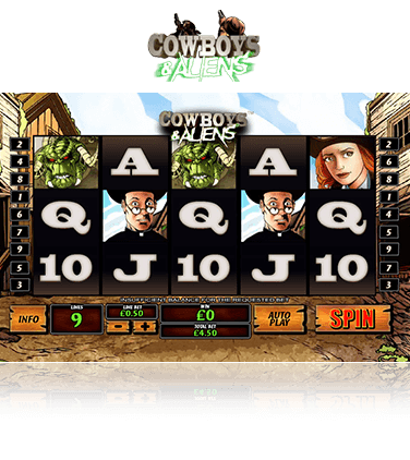 Cowboys & Aliens game