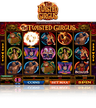 Twister Circus game