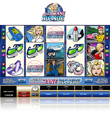 Agent Jane Blonde game