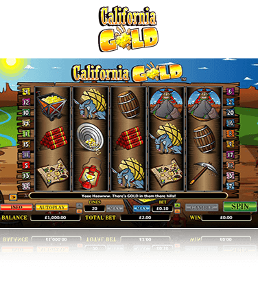 California Gold game