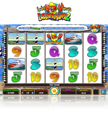 Free casino play larry lobster mania 11