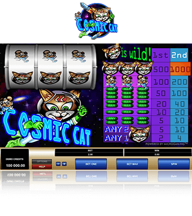 Cosmic Cat Game