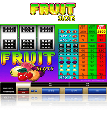 Fruit Slots Game