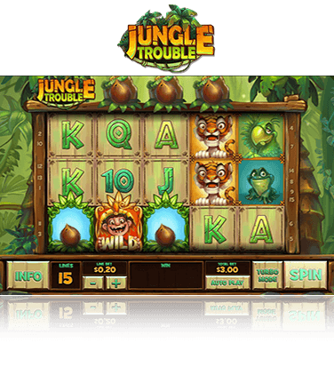 Jungle Trouble game