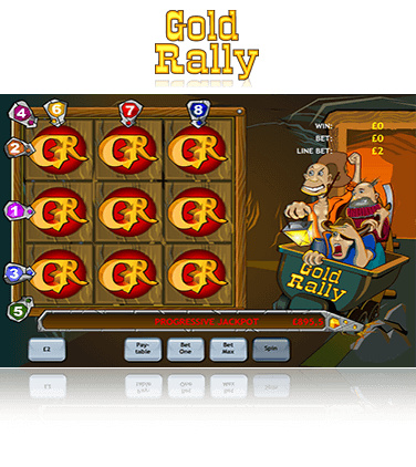 Gold Rally game