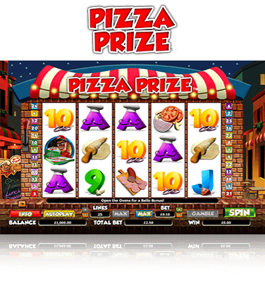 Pizza Prize Game
