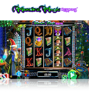 Merlins Magic Respins Cristmas Game