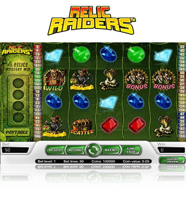 Relic Raiders Game