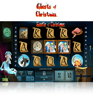 Ghosts of Christmas Game