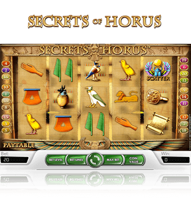 Secrets of Horus Game