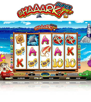 Shaaark! Superbet Game