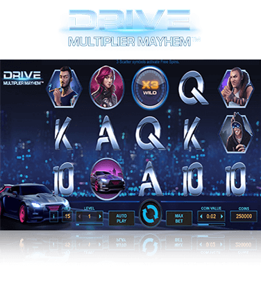 Drive Multiplier Mayhem Game