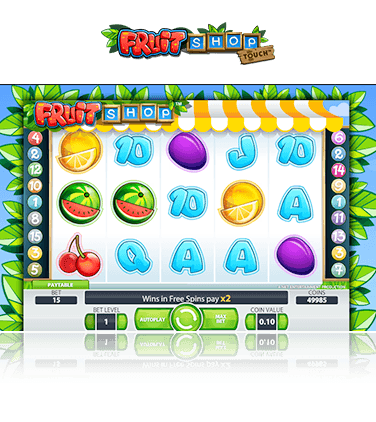 NetEnt Fruit Shop Game