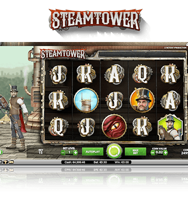 NetEnt Steam Tower Game