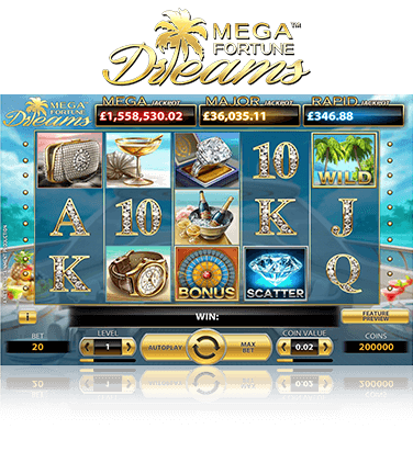 Mega Fortune Dreams Game