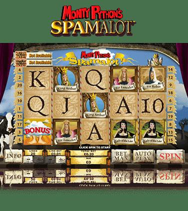 Spamalot Game