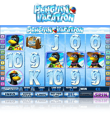 Penguin Vacation Game