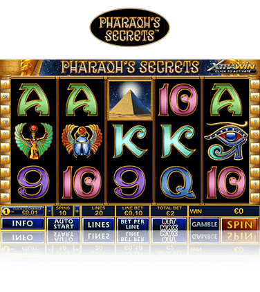 Pharaohs Secret Game