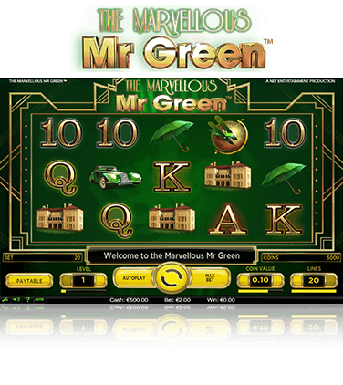 The Marvellous Mr Green Game