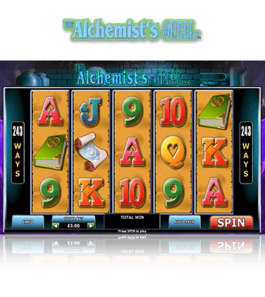 The Alchemist's Spell Game
