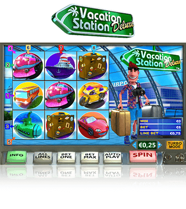 Vacation Station Deluxe Game