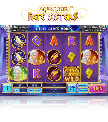 Age of the Gods Fate Sisters Slot - Play for Free Now