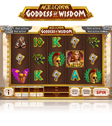 Age of the Gods Goddess of Wisdom Game