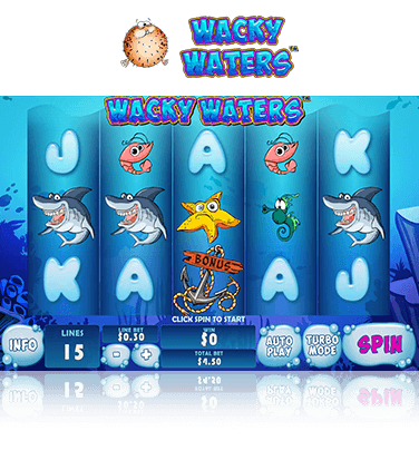 Wacky Waters Game